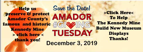 Kennedy Mine - Amador Giving Tuesday 12-03-2019