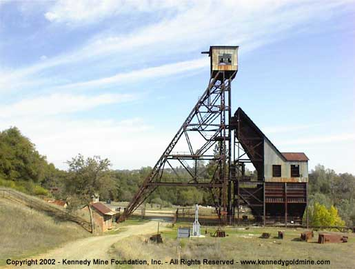 Kennedy Gold Mine Historic Gold Mine Surface Tours