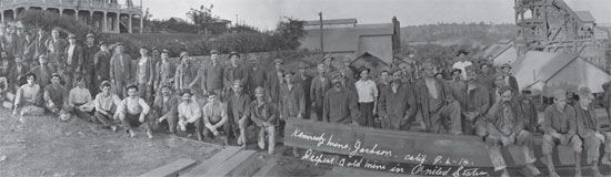 Kennedy Gold Mine - Miners Working in the Kennedy